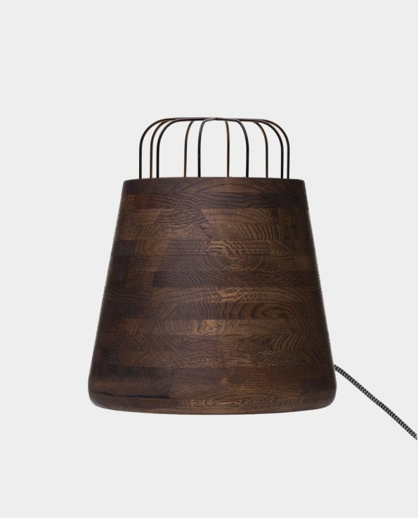 Bullet – stain, varnish, welded cage