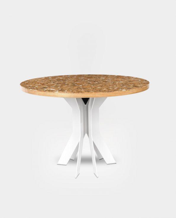 Cork decor white | high gloss